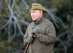 Отдых президента РФ Владимира Путина в Сибири