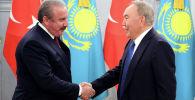 Назарбаев встретился со спикером парламента Турции