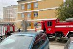 В школе Павлодара произошел пожар