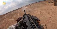 Приемы тактической стрельбы выполняют военнослужащие спецподразделений