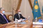 Токаев принял министра культуры и спорта Актоты Раимкулову