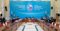 Участники Форума межрегионального сотрудничествк Казахстана и России в Нур-Султане