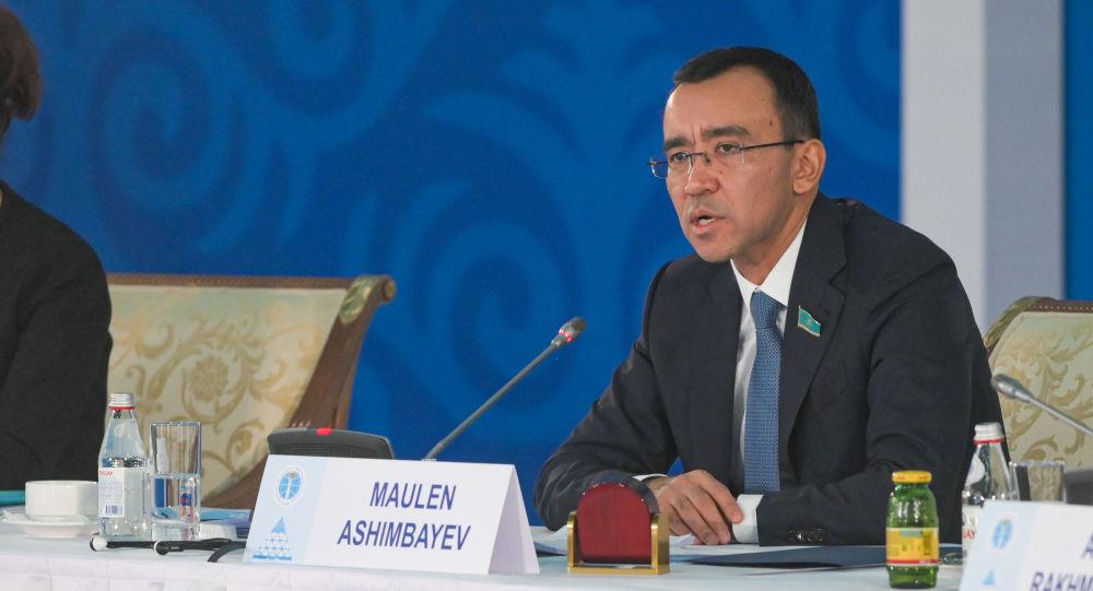 Съезд мировых религиозных лидеров. Маулен Ашимбаев
