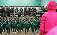 Cцена из первого сезона южнокорейского веб-сериала Игра в кальмара