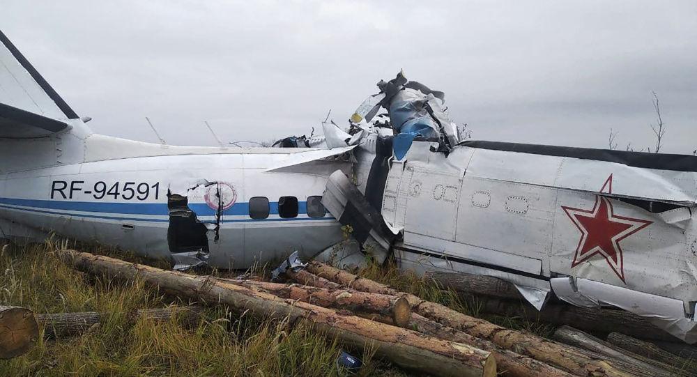Самолет L-410 потерпел крушение в Татарстане
