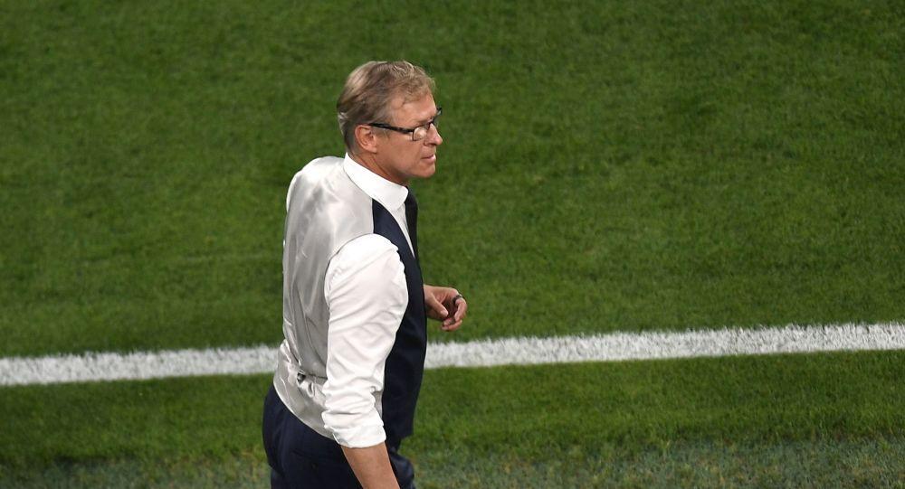 Главный тренер сборной Финляндии Маркку Канерва