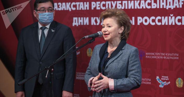Ольга Ярилова - заместитель министра культуры РФ