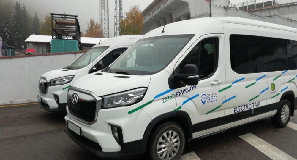 Автомобили электротакси