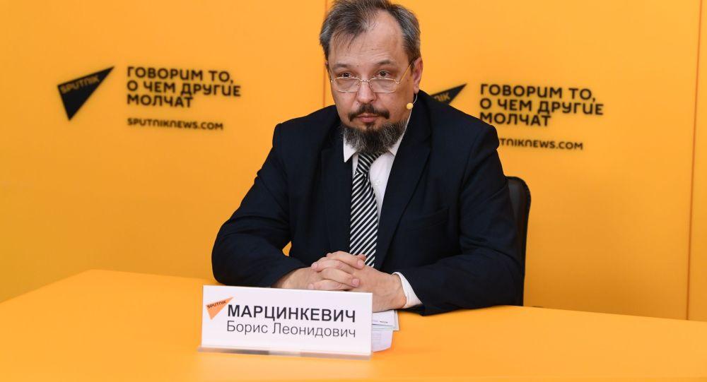 Борис Марцинкевич, российский эксперт в сфере энергетики