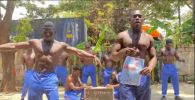 Африканцы станцевали в защиту Малого Талдыколя