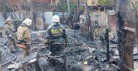 Площадь возгорания составила порядка 100 квадратных метров