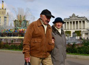 Пенсионеры в Москве
