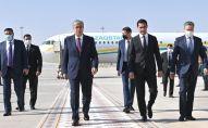 Токаев прибыл в Ашхабад с государственным визитом