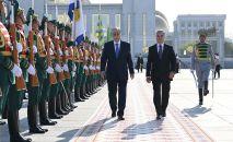 Президенты Казахстана и Туркменистана провели переговоры в узком формате