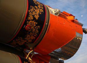 Вывоз ракеты-носителя Союз-2.1а с грузовым кораблем Прогресс МС-18 на стартовый комплекс космодрома Байконур