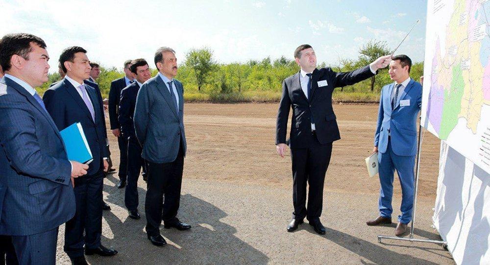 Карим Масимов на совещании в ЗКО
