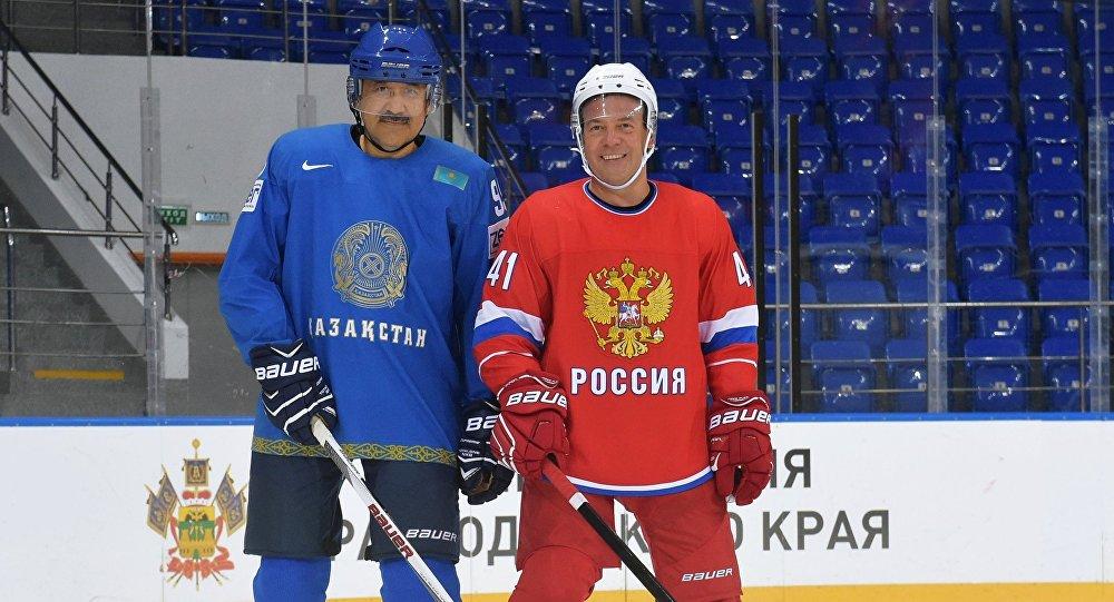 Кәрім Мәсімов пен Дмитрий Медведев