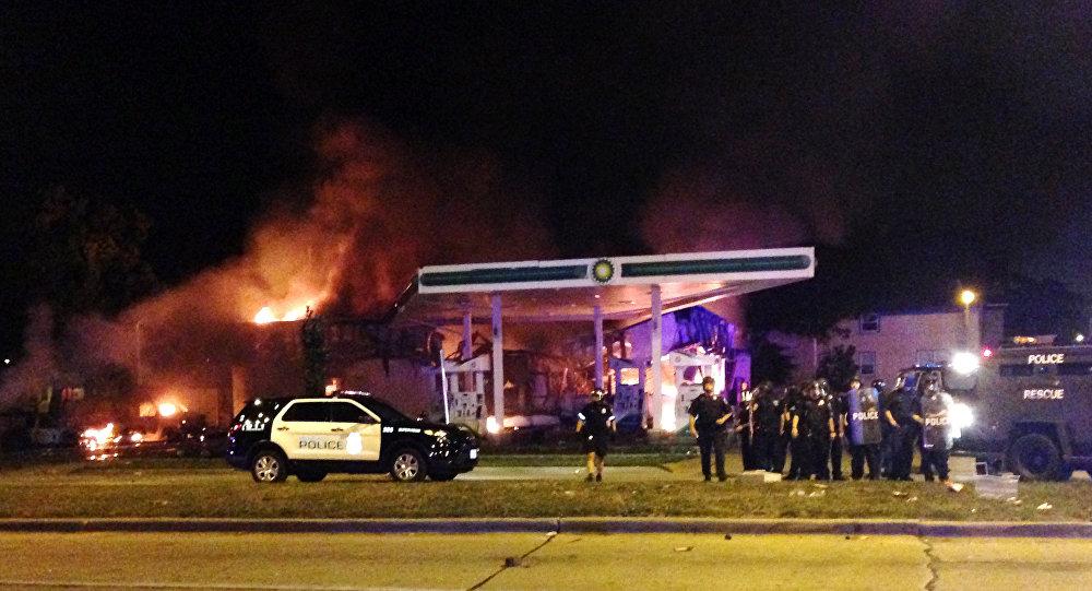 Беспорядки в американском городе Милуоки