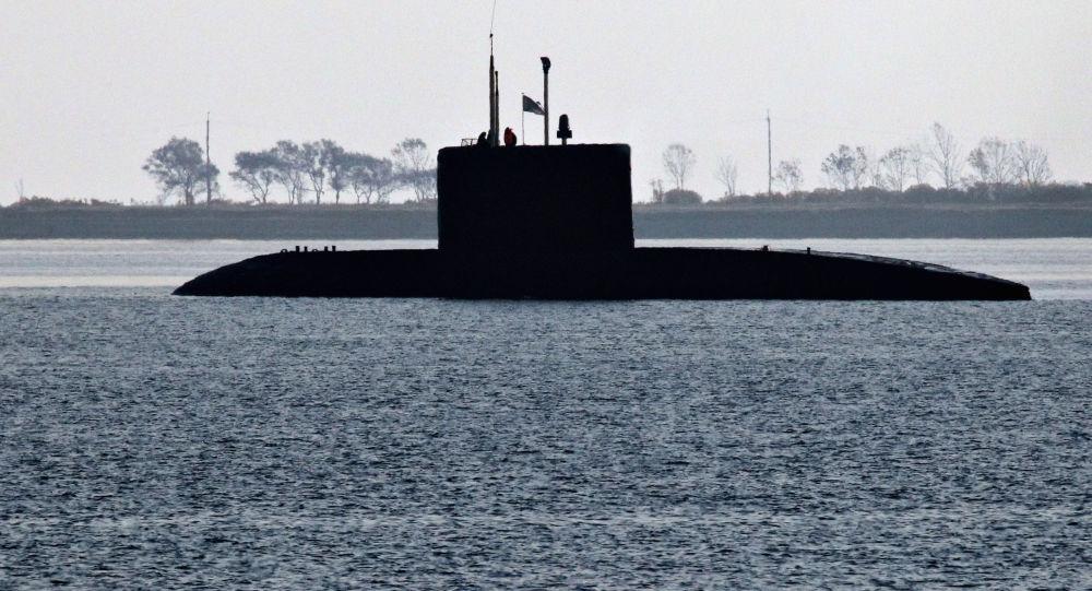 теңіздегі әскери жаттығу
