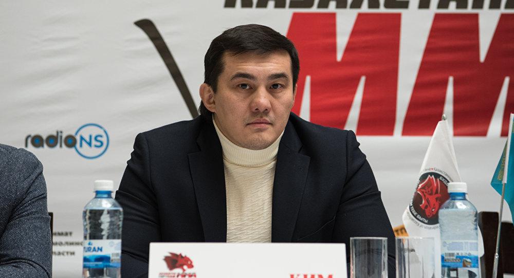 Президент федерации ММА Казахстана Анатолий Ким