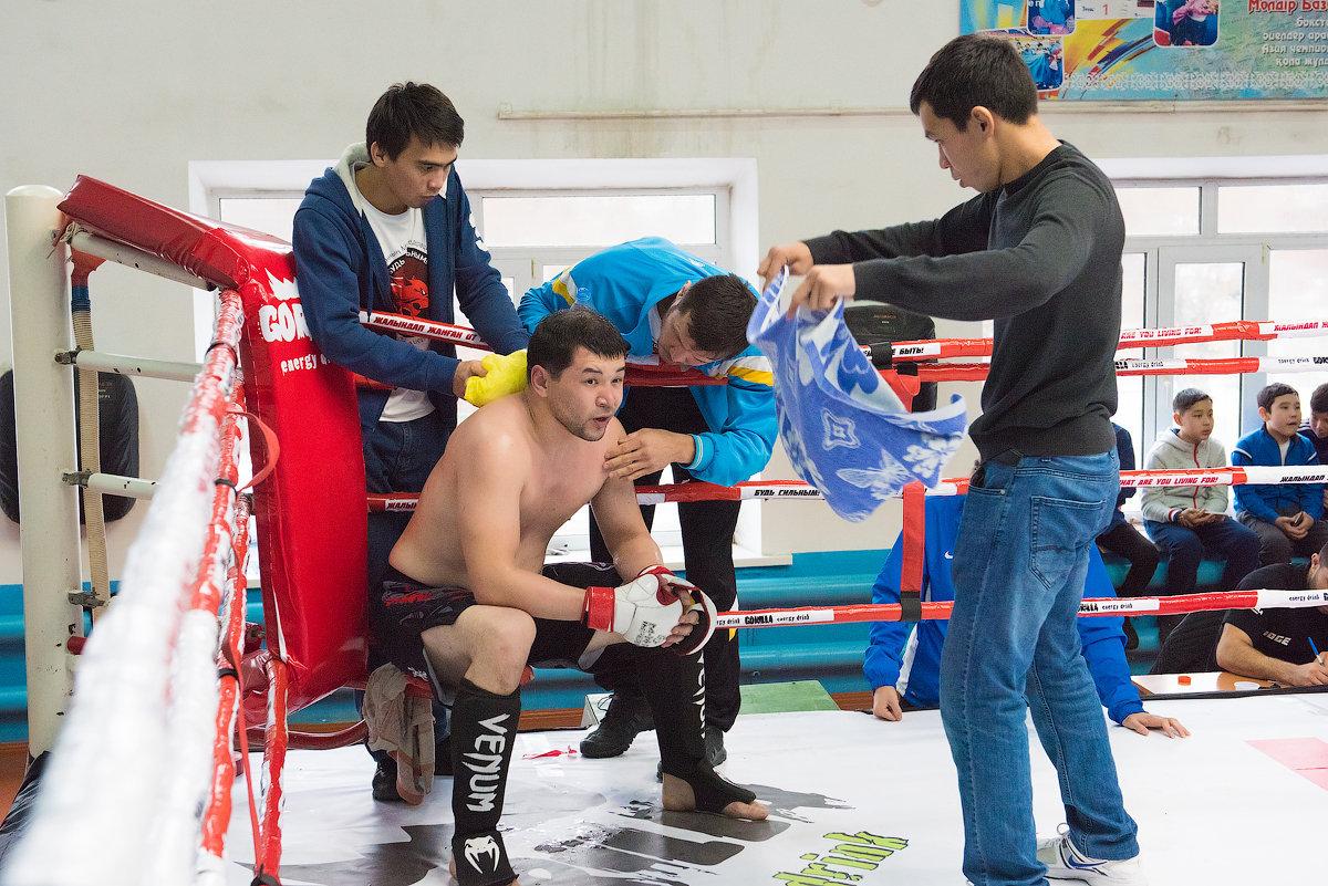 Поединки накануне 3-го Кубка ММА Казахстана