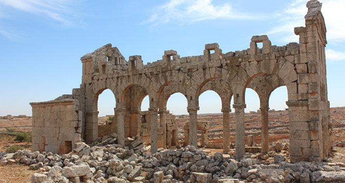 Церковь Хараб Шам в Сирии