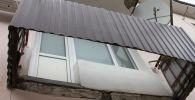 Балкон рухнул в Уральске
