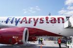 Первый самолет лоукостера Fly Arystan прилетел в Нур-Султан