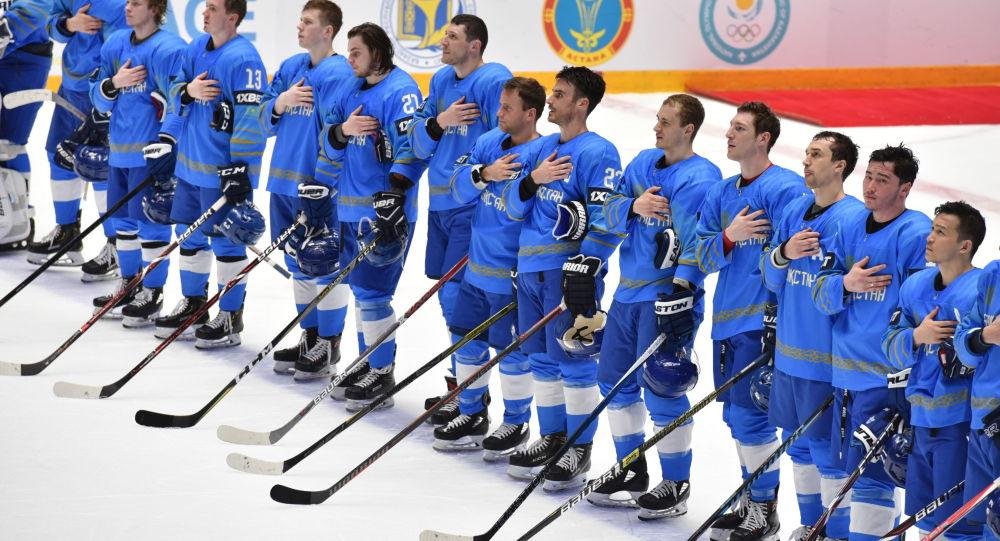 Матч сборных Казахстана и Литвы в рамках чемпионата мира по хоккею первого дивизиона