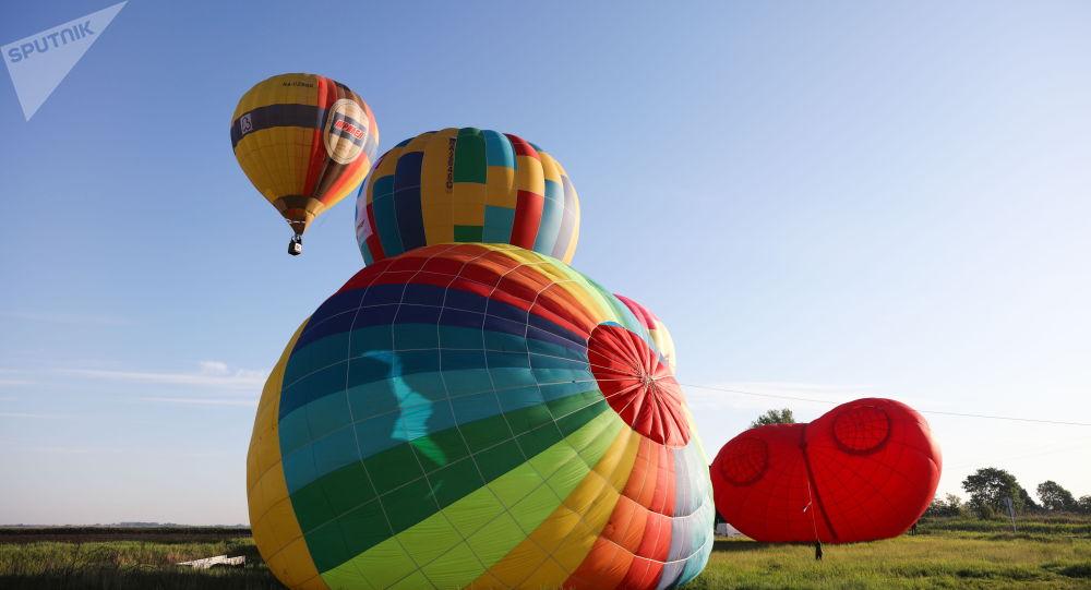 Воздушный шар, архивное фото
