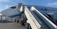 Борт DV834 авиакомпании SCAT совершил аварийную посадку в аэропорту Нур-Султана