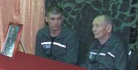 Осужденного ветерана поздравили в костанайской колонии