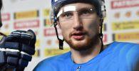 Нападающий сборной Казахстана Аркадий Шестаков