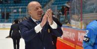 Тренер сборной Казахстана по хоккею Андрей Скабелка на чм мира по хоккей первого дивизиона в Нур-Султане