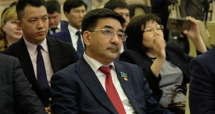 Кандидат в президенты Казахстана Жамбыл Ахметбеков