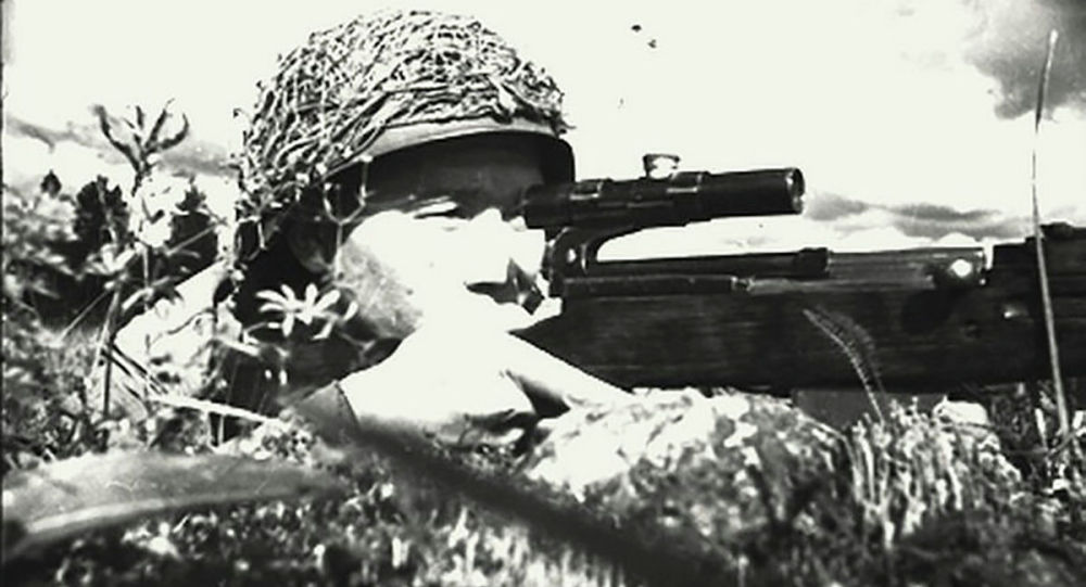 Снайпер Төлеуғали Әбдібеков