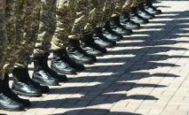 Торжественное мероприятии в честь Дня защитника  отечества, 7 мая, в парке имени 28 гвардейцев-панфиловцев