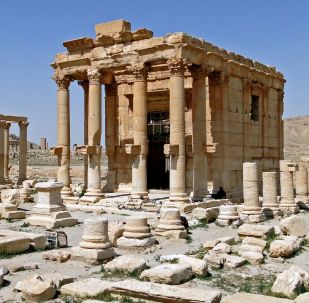 Храм Баалшамина в Пальмире, Сирия
