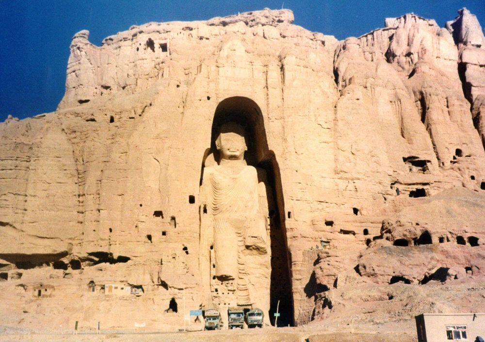Бамианские статуи Будды, Афганистан,1997 год