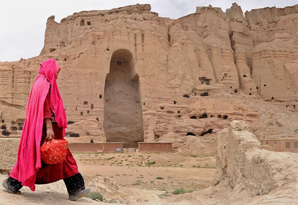 Бамианские статуи Будды, Афганистан, 2010 год