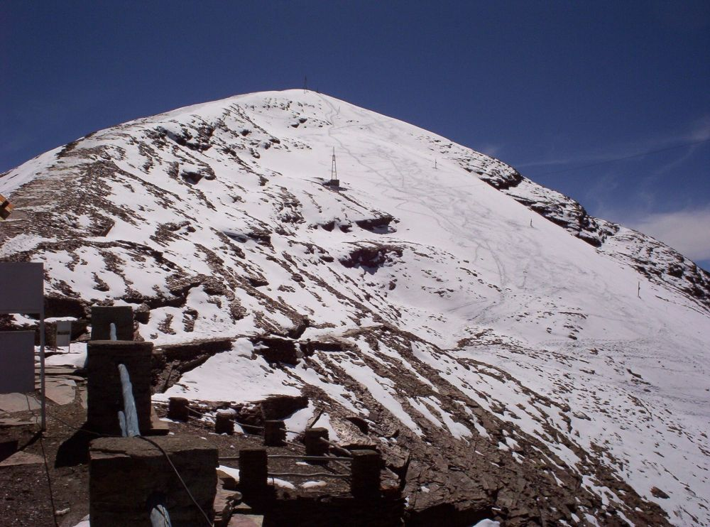 Ледник Чакалтая, Боливия, 2005 год