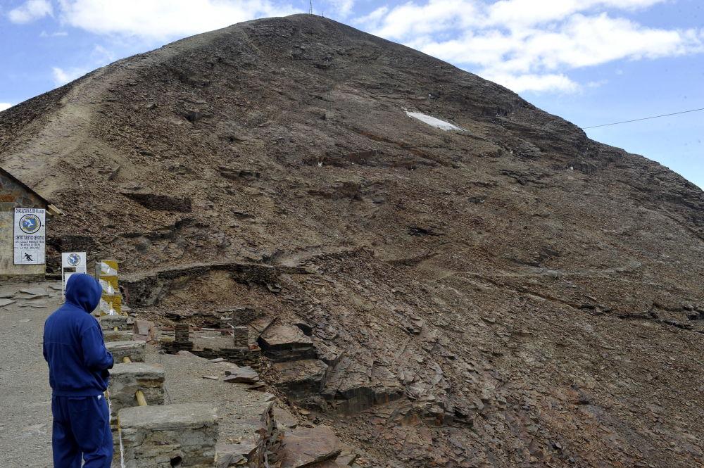Ледник Чакалтая, Боливия, 2009 год