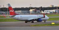 Самолет Boeing 737-800 авиакомпании Nordwind, архивное фото
