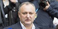 Президент Молдовы Игорь Додон