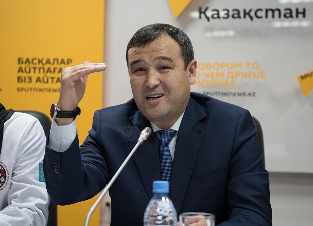 президент Федерации ММА Астаны,компания Gas energy, коммерческий директор Мурат МАУЛЕНБАЕВ;