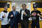 В мультимедийном пресс-центре Sputnik Казахстан состоялась пресс-конференция поитогам III Кубка Казахстана по смешанному боевому единоборству (ММА)