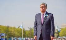 Президент Казахстана Касым-Жомарт Токаев возложил цветы к Вечному огню в День Победы, архивное фото