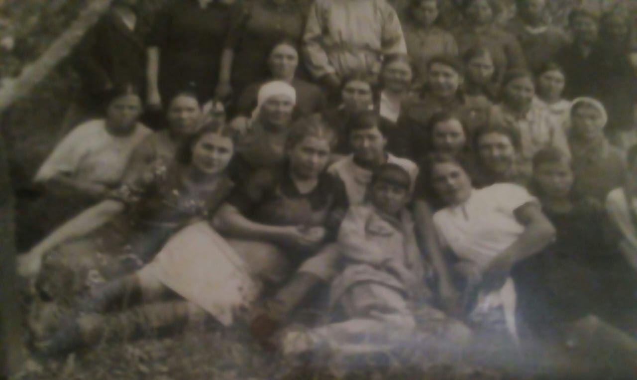 1943 год, работницы Семипалатинского мясокомбината