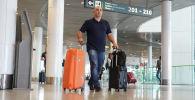 Международный аэропорт Нурсултан Назарбаев в Нур-Султане