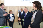 Елбасы Нурсултан Назарбаев посетил Международный центр зеленых технологий и инвестиционных проектов